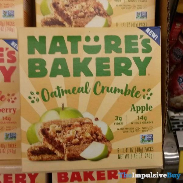Nature s Bakery Apple Oatmeal Crumble