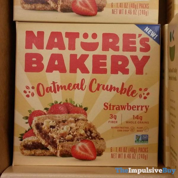 Nature s Bakery Strawberry Oatmeal Crumble