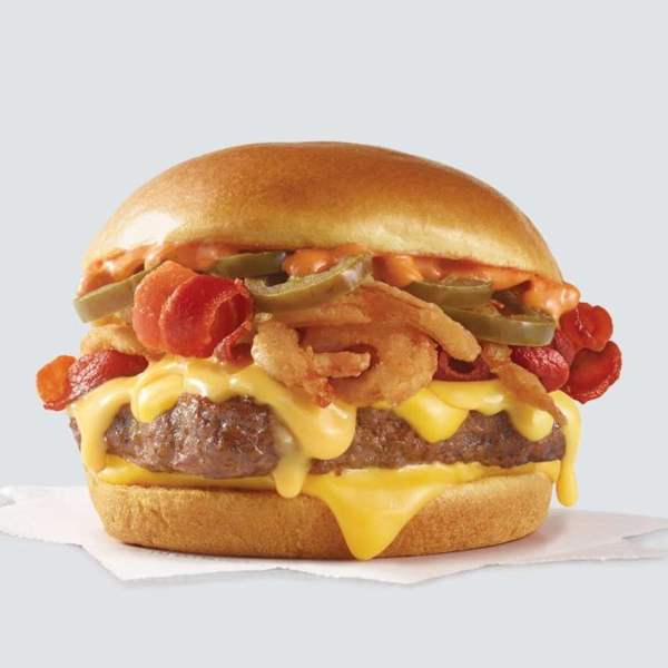 News Wendy s Bacon Jalapeno Cheeseburger