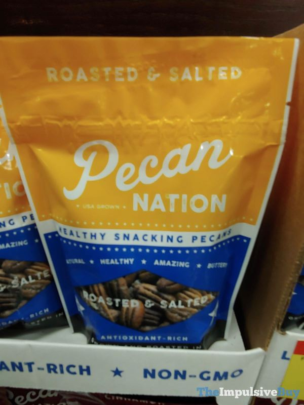 Pecan Nation Roasted  Salted