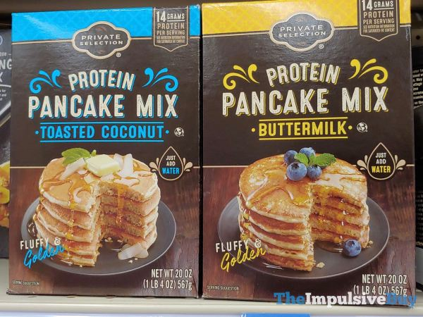Private Selection Protein Pancake Mix  Toasted Coconut and Buttermilk