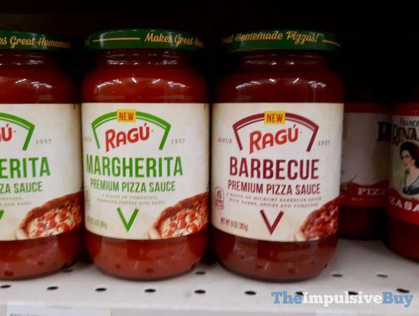 Ragu Premium Pizza Sauces  Margherita and Barbecue