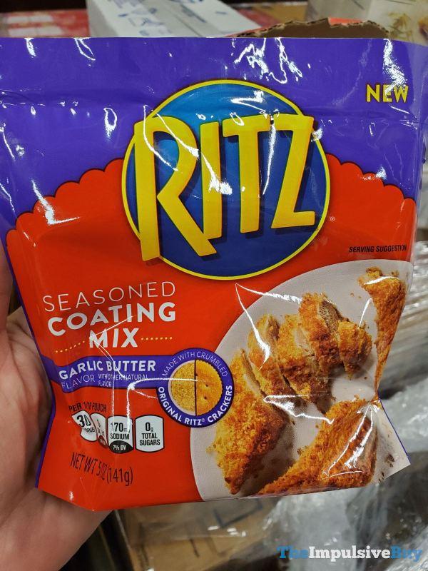 Ritz Garlic Butter Seasoned Coating Mix