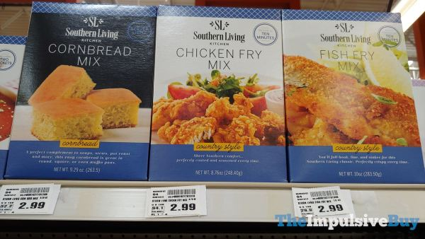 Southern Living Kitchen Cornbread Mix Chicken Fry Mix and Fish Fry Mix