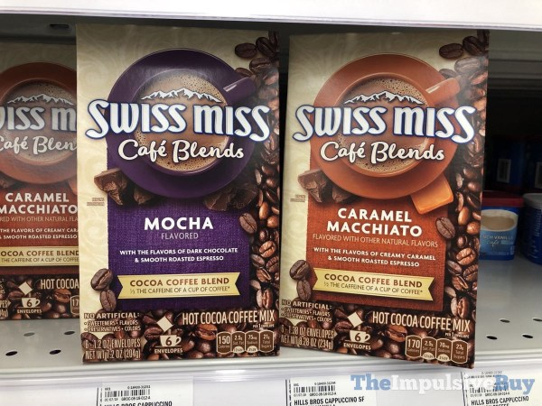 Swiss Miss Cafe Blends  Mocha and Caramel Macchiato