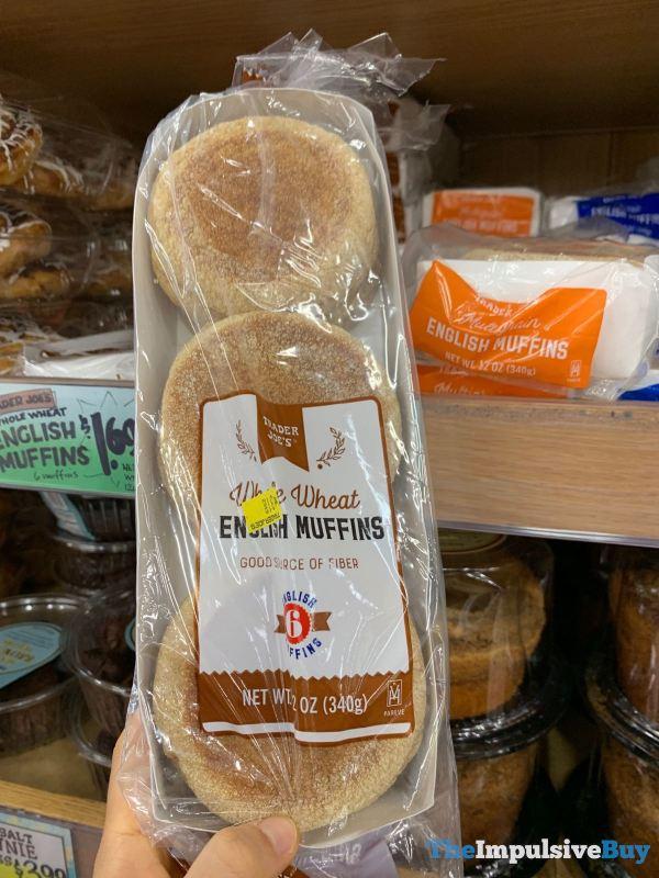 Trader Joe s Whole Wheat English Muffins