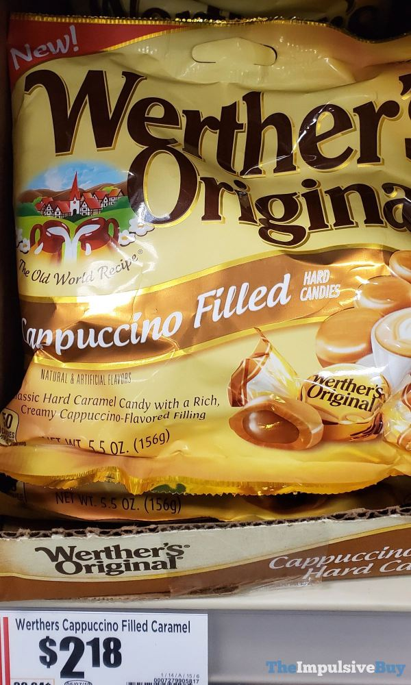 Werther s Original Cappuccino Filled Caramel Hard Candies