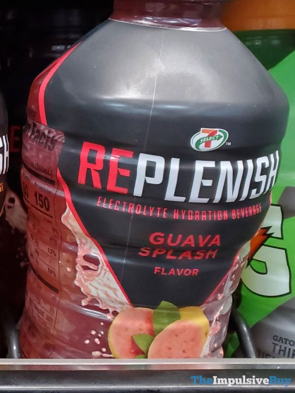 7 Select Guava Splash Replenish Electrolyte Hydration Beverage