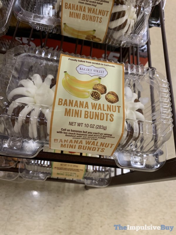 Bakery Street Banana Walnut Mini Bundts