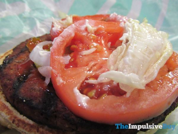 Burger King Impossible Whopper Tomato