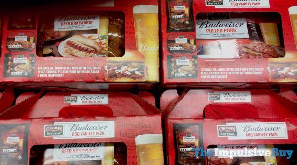 Coleman Naturals Budweiser BBQ Variety Packs