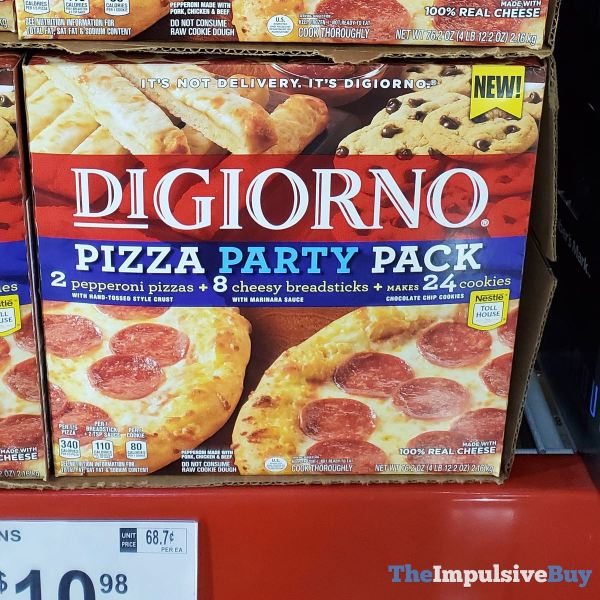 DiGiorno Pizza Party Pack