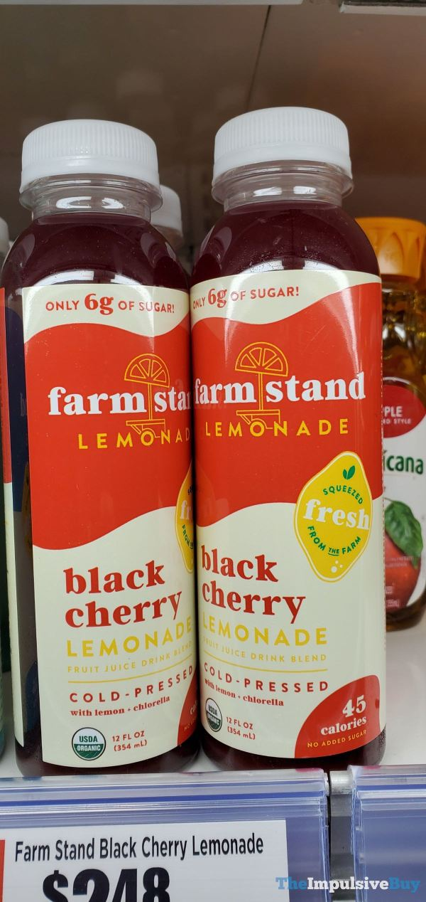 Farm Stand Black Cherry Lemonade