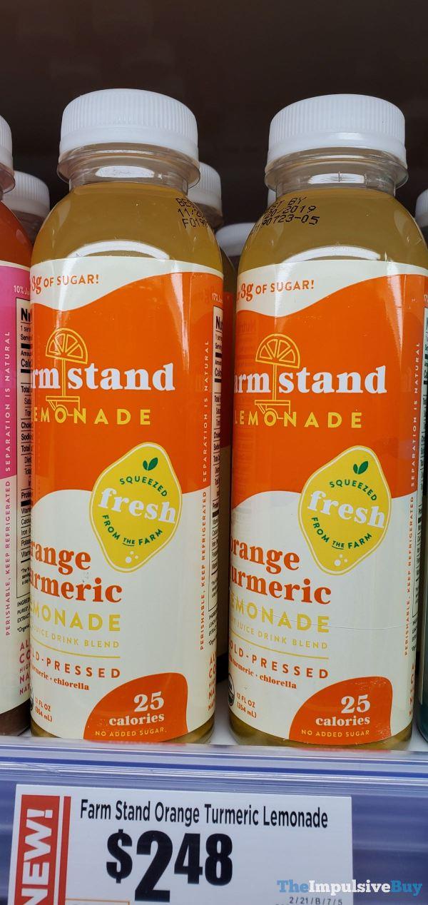 Farm Stand Orange Turmeric Lemonade