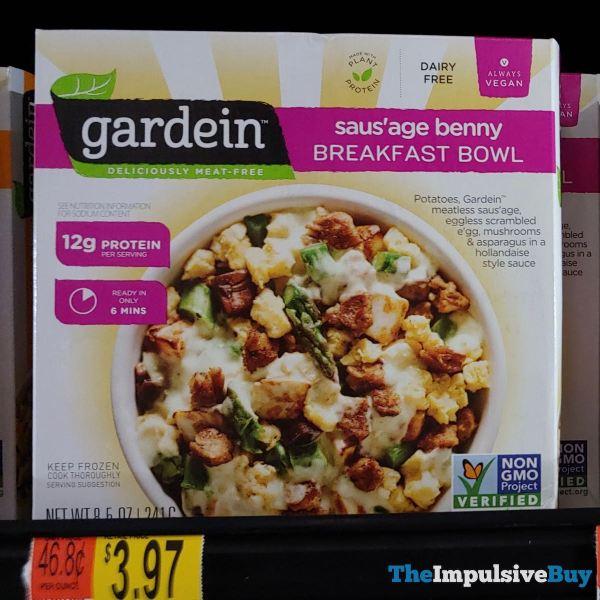 Gardein Saus age Benny Breakfast Bowl