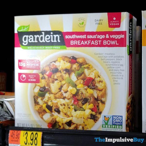 Gardein Southwest Saus age  Veggie Breakfast Bowl