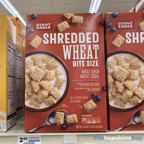 Giant Eagle Shredded Wheat Bite Size