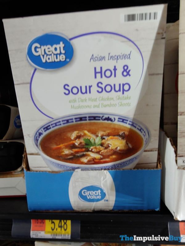 Great Value Asian Inspired Hot  Sour Soup