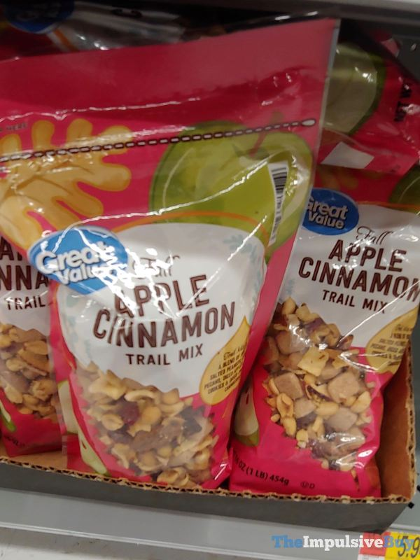 Great Value Fall Apple Cinnamon Trail Mix