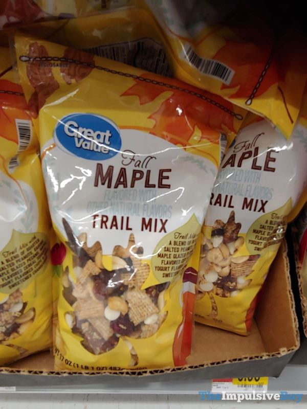 Great Value Fall Maple Trail Mix