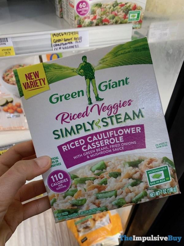 Green Giant Riced Veggies Simply Steam Riced Cauliflower Casserole