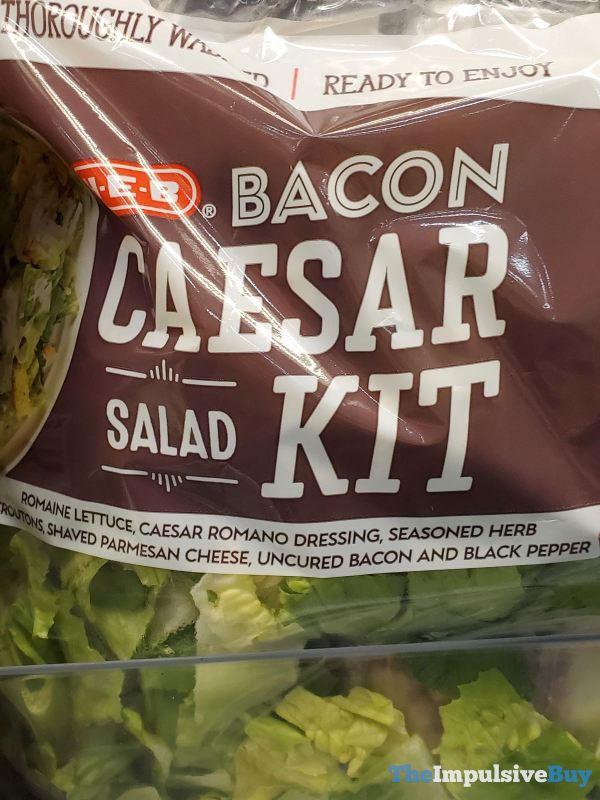 H E B Bacon Caesar Salad Kit