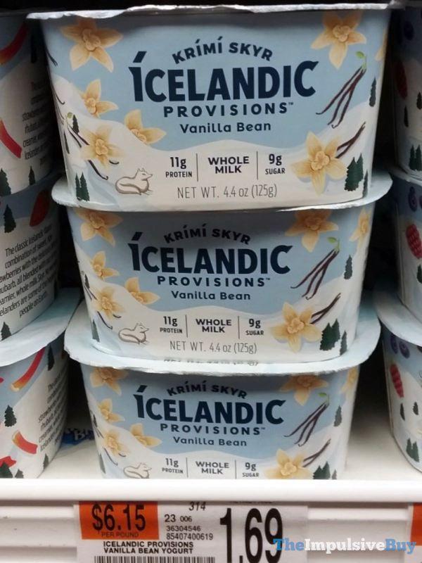 Icelandic Provisions Vanilla Bean Krimi Skyr Yogurt