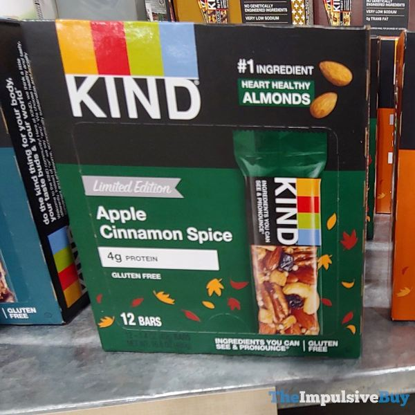 Kind Limited Edition Apple Cinnamon Spice Bars