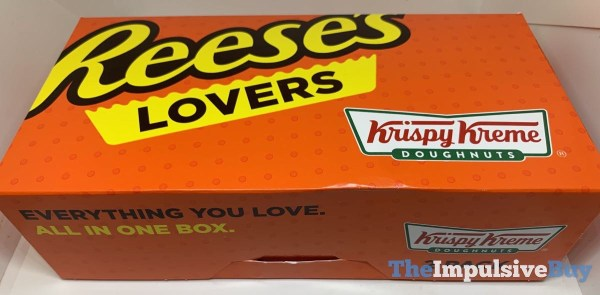Krispy Kreme Reese s Lovers Original Filled Doughnuts Box