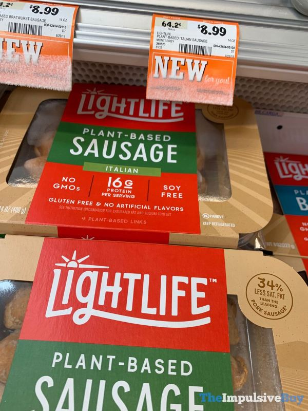 Lightlife Plant Based Sausage