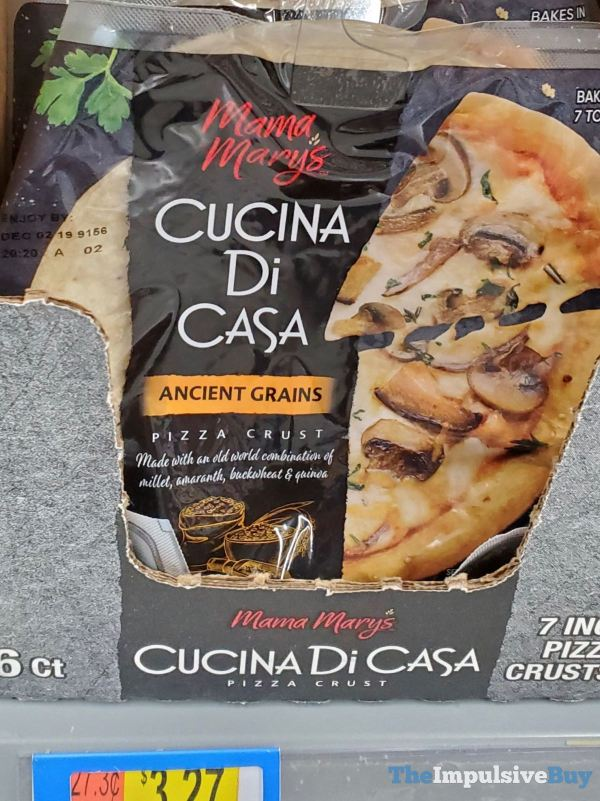 Mama Mary s Cucina Di Casa Ancient Grains Pizza Crust