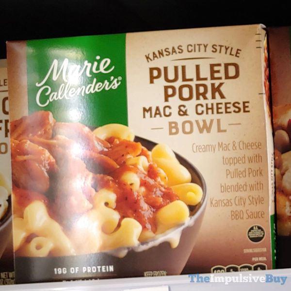 Marie Callender s Kansas City Style Pulled Pork Mac  Cheese Bowl