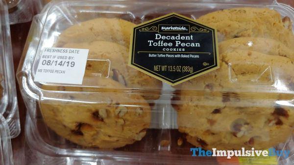 Marketside Decadent Toffee Pecan Cookies