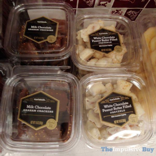 Marketside Milk Chocolate Graham Crackers and White Chocolate Peanut Butter Filled Pretzels