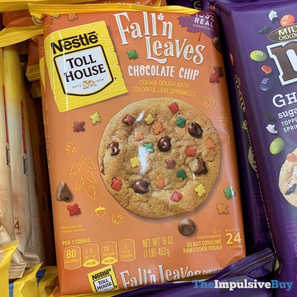 Nestle Toll House Fall n Leaves Chocolate Chip Cookie Dough