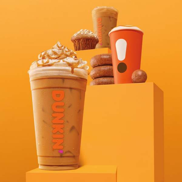 News Dunkin Cinnamon Sugar Pumpkin Signature Latte