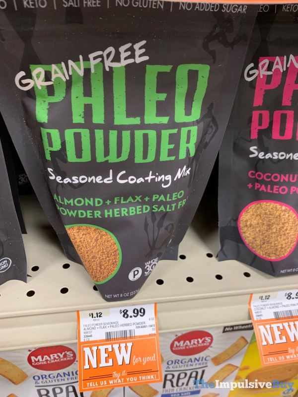 Paleo Powder Almond Flax Paleo Powder Herbed Salt