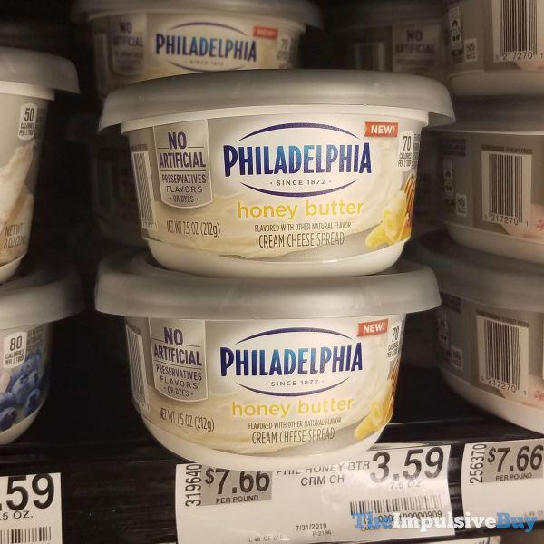Philadelphia Honey Butter Cream Cheese Spread