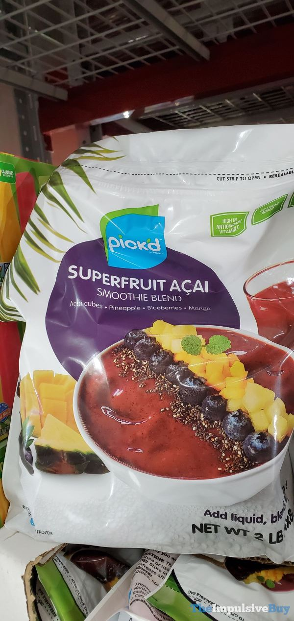 Pick d Superfruit Acai Smoothie Bland