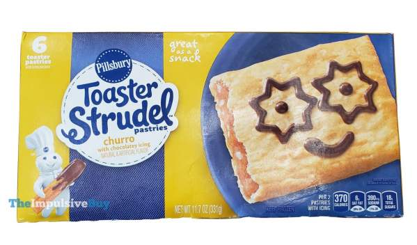 Pillsbury Churro Toaster Strudel
