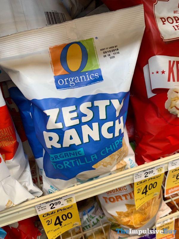 Safeway Zesty Ranch Organic Tortilla Chips