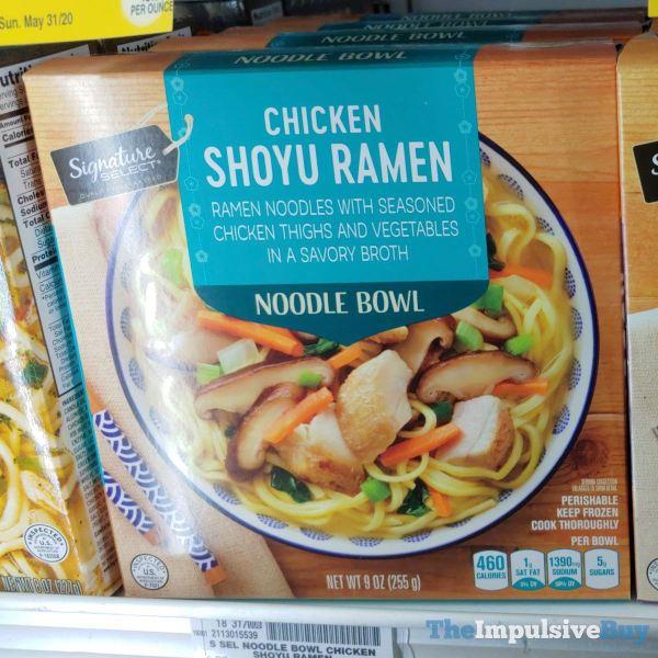 Signature Select Chicken Shoyu Ramen Noodle Bowl