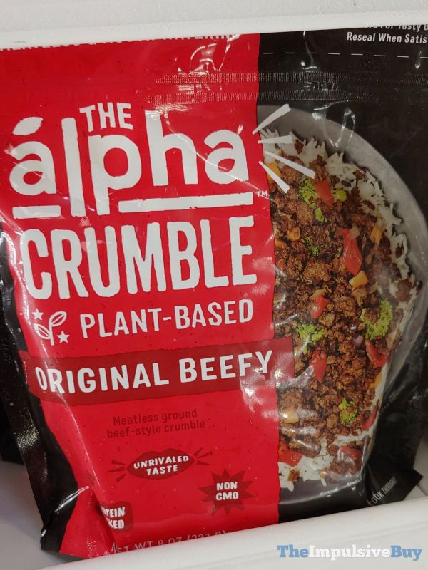 The Alpha Crumble Original Beefy