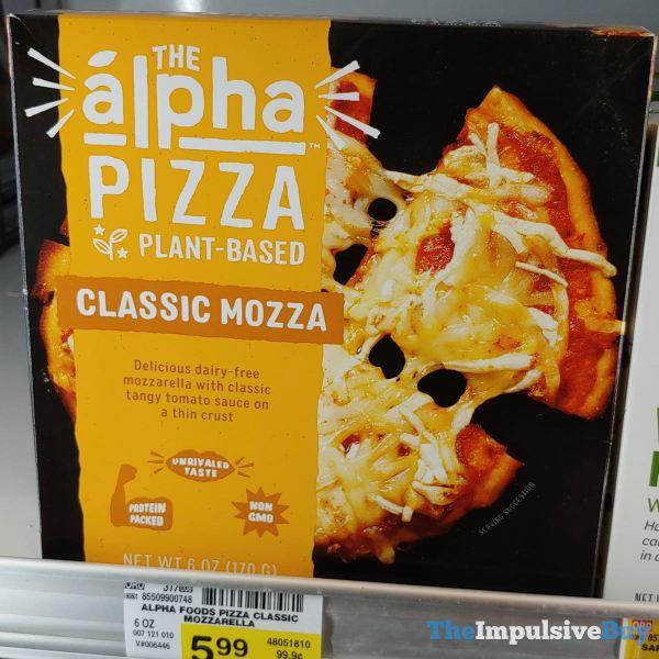 The Alpha Pizza Plant Basted Classic Mozza
