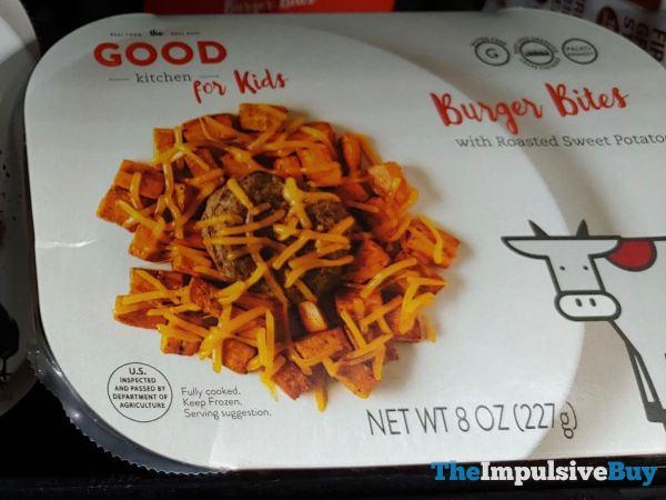 The Good Kitchen for Kids Burger Bites