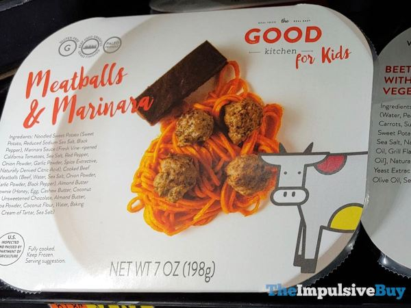 The Good Kitchen for Kids Meatballs  Marinara