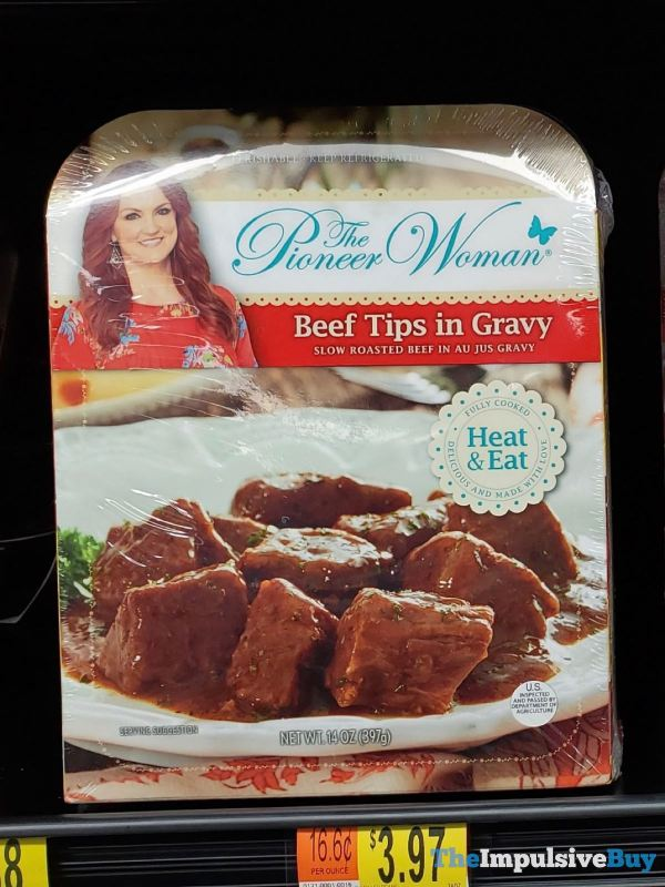 The Pioneer Woman Beef Tips in Gravy