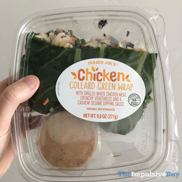 Trader Joe s Chicken Collard Green Wrap
