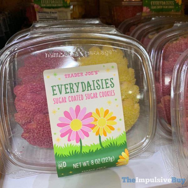 Trader Joe s Every Daisies Sugar Coated Sugar Cookies