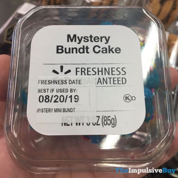 Walmart Mystery Bundt Cake